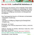 SG Vehlefanz -Neu Lauftreff